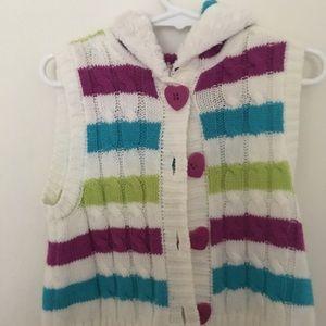 Little Lass sweater vest size 4T